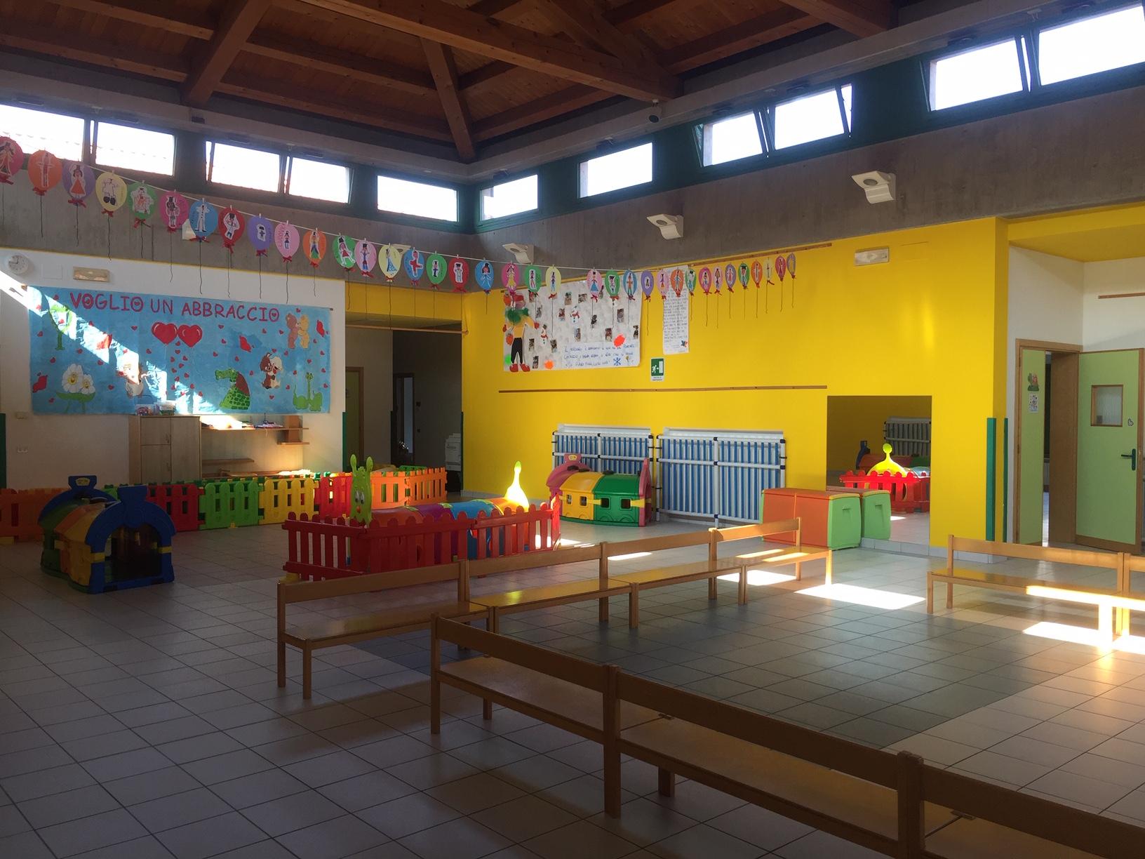 Spazi scuola infanzia